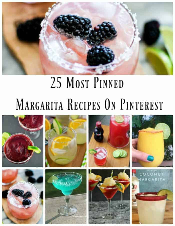 25 Most Pinned Margarita Recipes On Pinterest Summer Bucket List