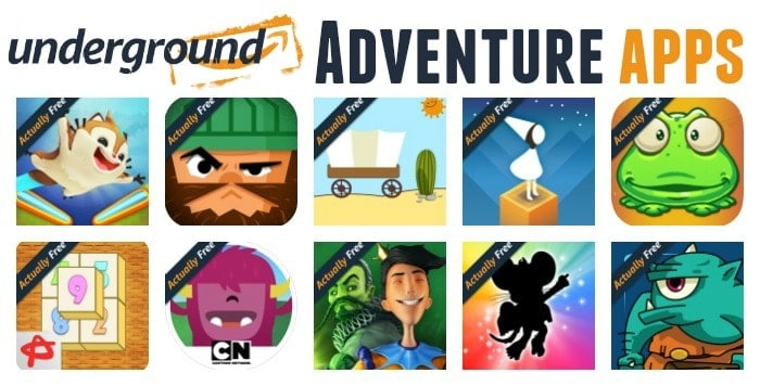 amazon-underground-adventure-apps