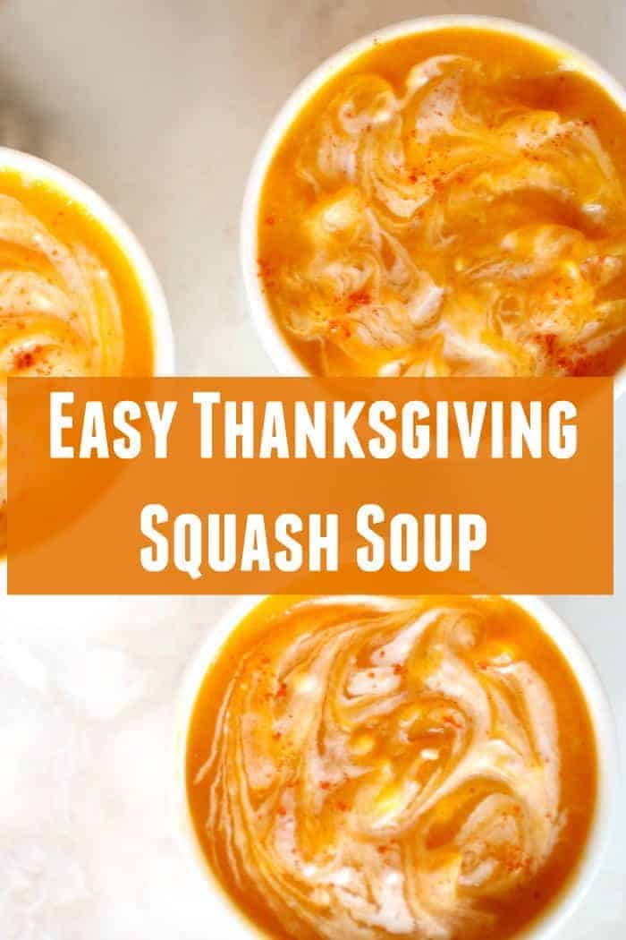 Thanksgiving Squash Soup Recipe . Fast and easy butternut squash recipe cooked in a crockpot that is perfect for thanksgiving. Serve as your first dish and precook so you can reheat and serve while waiting for everything else to finish cooking! This soup is so easy and so delicious! Coconut milk, butternut squash, carrots, and more. Butternut squash soup recipe. |faithfullyfree.com