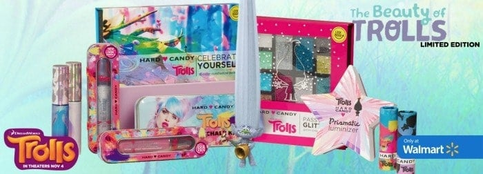 Trolls Hard Candy Makeup - Super Cute Stocking Stuffers!