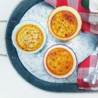 Delicious Pumpkin Creme Brulee