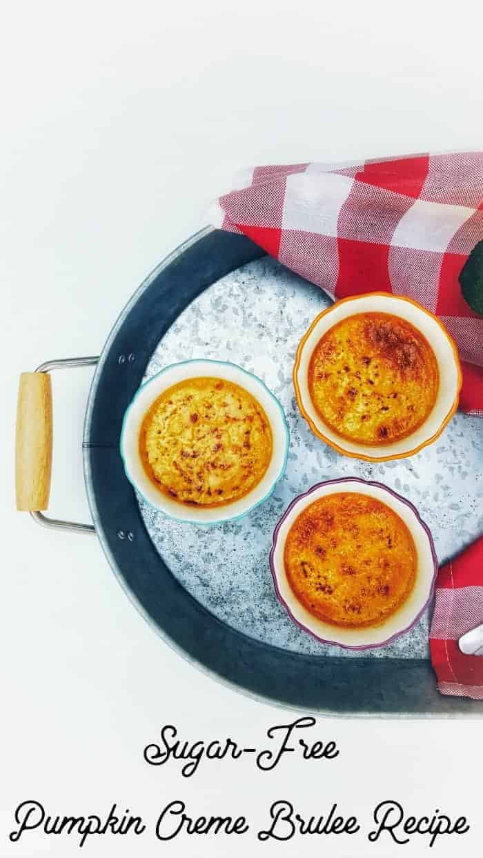 Sugar-Free Pumpkin Creme Brulee Recipe Faithfully Free