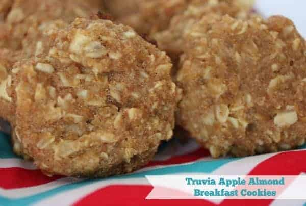 Truvia Apple Almond Breakfast Cookies