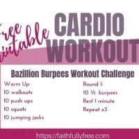 Bazillion Burpees Workout Challenge