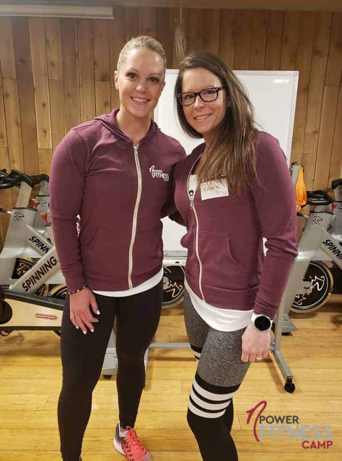 Shasta Walton and Nicole Wilkins nPower Fitness Camp 2019
