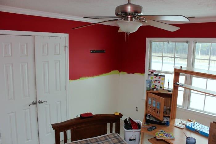 Boys-Bedroom-Red-White