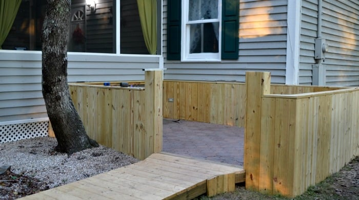 How To Add Walls To An Existing Paver Patio