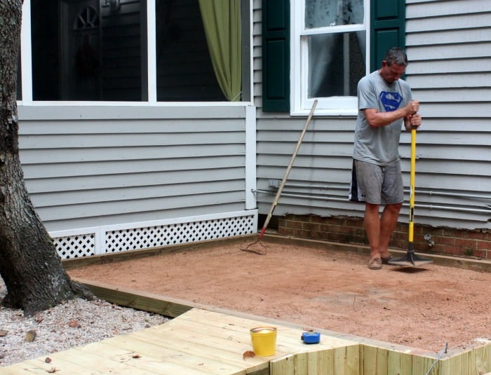 Fix a Paver Patio Hand Tamping