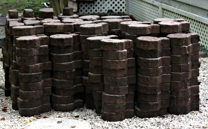 Fix a Paver Patio Stacked