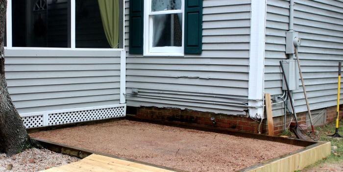 Fix a Paver Patio surface prep