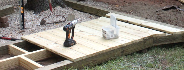 How to Build a Wooden Walk Boards
