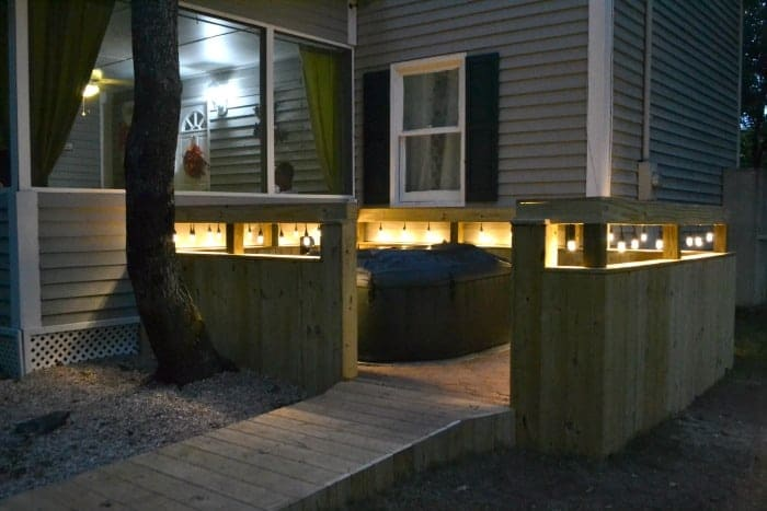 How to Build a Wooden Walk Spa